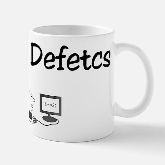 zero defetcs Mug