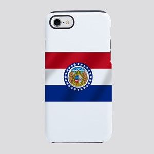 Missouri State Flag iPhone 7 Tough Case