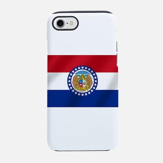 Missouri State Flag iPhone 7 Tough Case