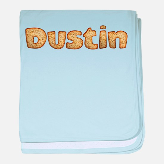 Dustin Toasted baby blanket
