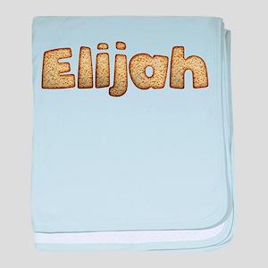 Elijah Toasted baby blanket