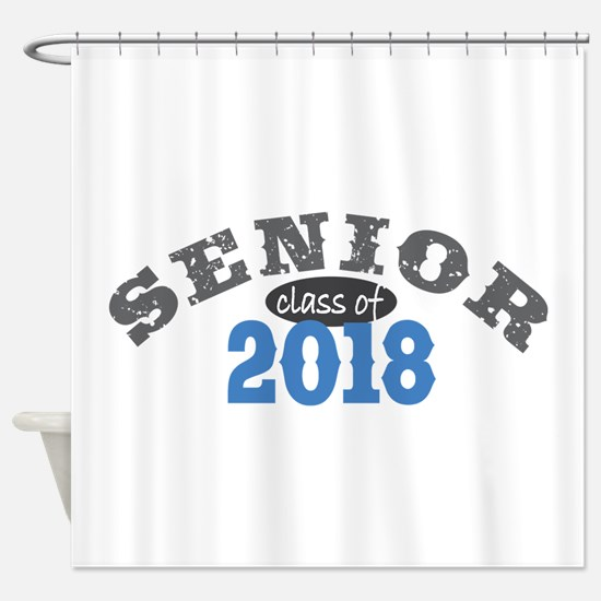Senior Class of 2018 Shower Curtain