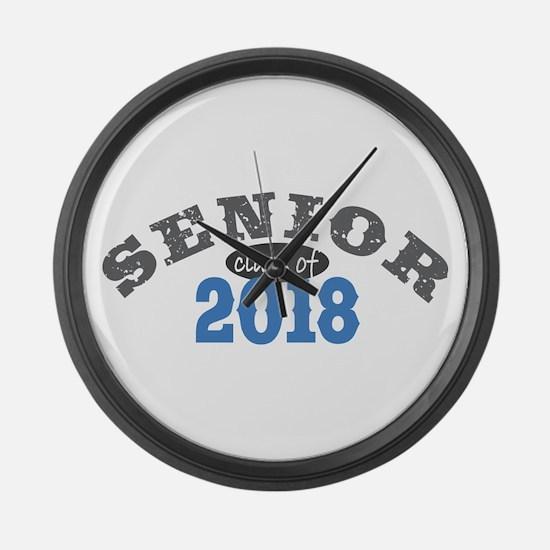 Senior Class of 2018 Large Wall Clock