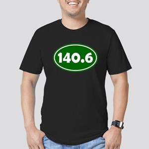 140.6 Oval - Forest Green Men's Fitted T-Shirt (da