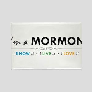 I'm a Mormon: I know it, I live it, I love it Rect
