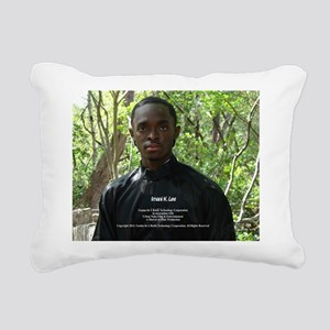 The Waters of Woe Rectangular Canvas Pillow
