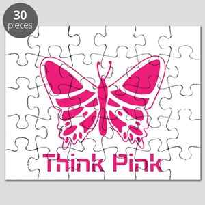 pink butterfly Puzzle