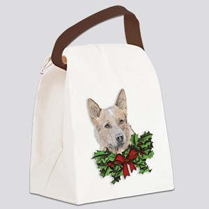 Red Heeler Canvas Lunch Bag