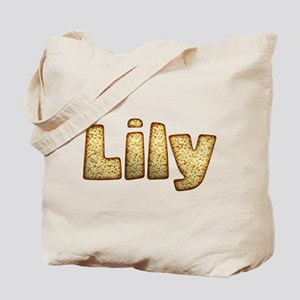 Lily Toasted Tote Bag