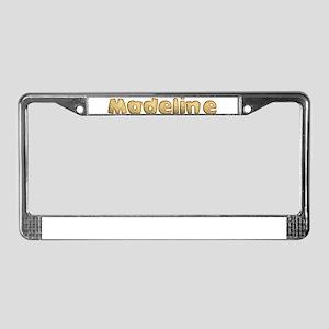 Madeline Toasted License Plate Frame