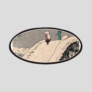 Fukeiga 12 - Hiroshige Ando - 1858 - woodcut Patch