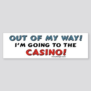 Casino Lovers Bumper Sticker