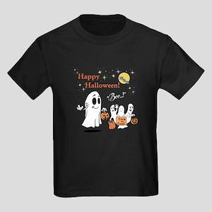 Fun Happy Halloween Kids Dark T-Shirt