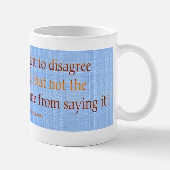 """""""No Expectation"""" Mug"""