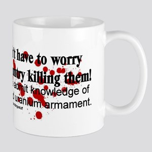 """Depleted Uranium Armament"" Mug"