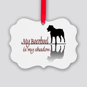 Boerboel Shadow Picture Ornament