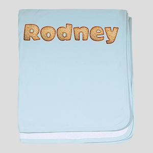 Rodney Toasted baby blanket