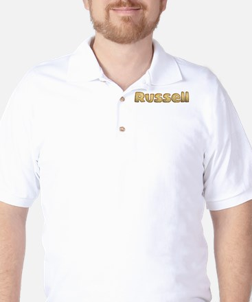Russell Toasted Golf Shirt