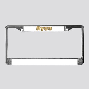 Ryan Toasted License Plate Frame