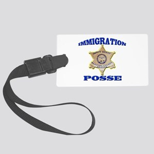 Maricopa Sheriff Immigration Posse Large Luggage T