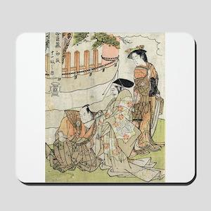 First Scene - Shunsho Katsukawa - 1785 - woodcut M