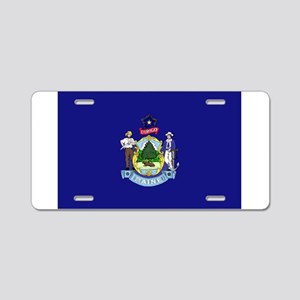 Maine Aluminum License Plate