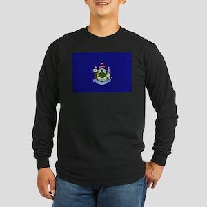 Maine Long Sleeve Dark T-Shirt
