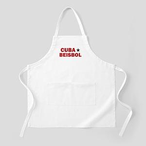 Cuba Beisbol BBQ Apron