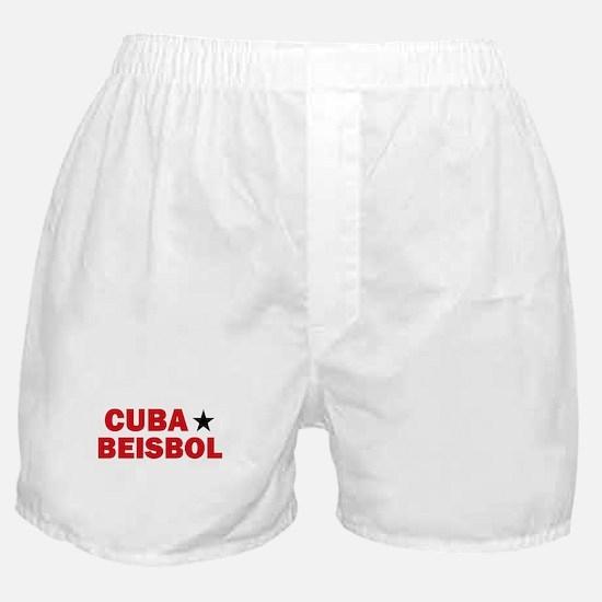 Cuba Beisbol Boxer Shorts