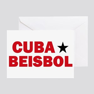 Cuba Beisbol Greeting Cards (Pk of 10)