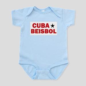 Cuba Beisbol Infant Creeper