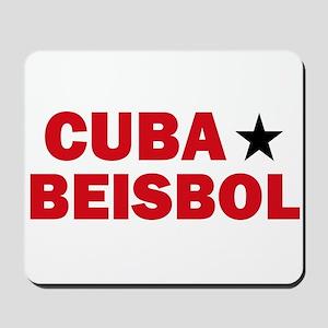 Cuba Beisbol Mousepad