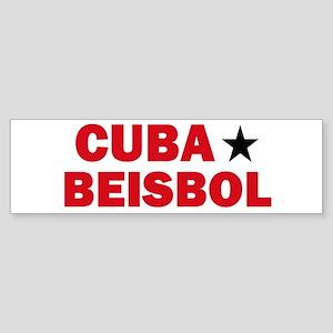 Cuba Beisbol Bumper Sticker