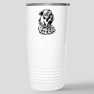 Pug Life Stainless Steel Travel Mug