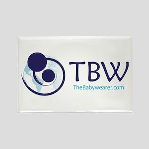 TBW-logo Rectangle Magnet