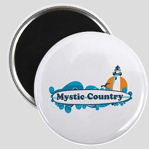 Mystic CT - Surf Design. Magnet