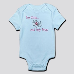 Im Cute and Itsy Bitsy Girl Infant Bodysuit