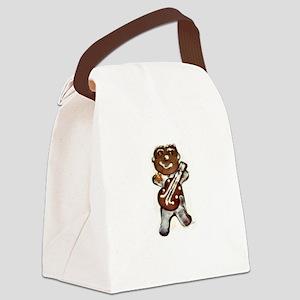 My Gingerbread Man Rocks Canvas Lunch Bag