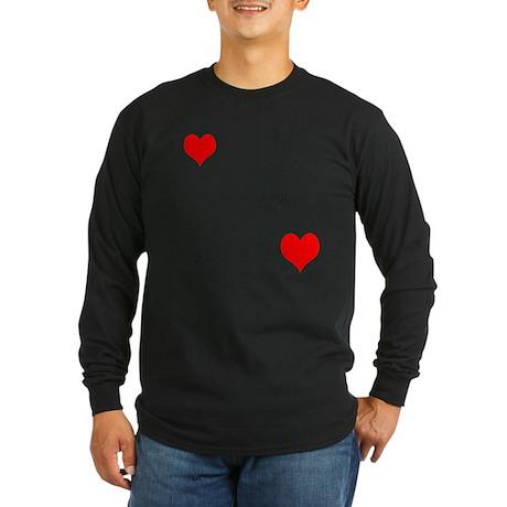 LoveandPeace Long Sleeve Dark T-Shirt