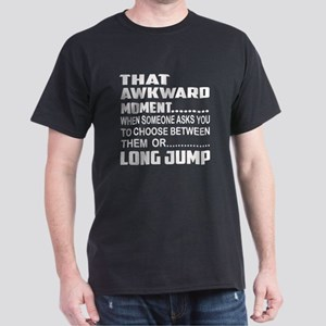 That Awkward Moment... Long Jump Dark T-Shirt