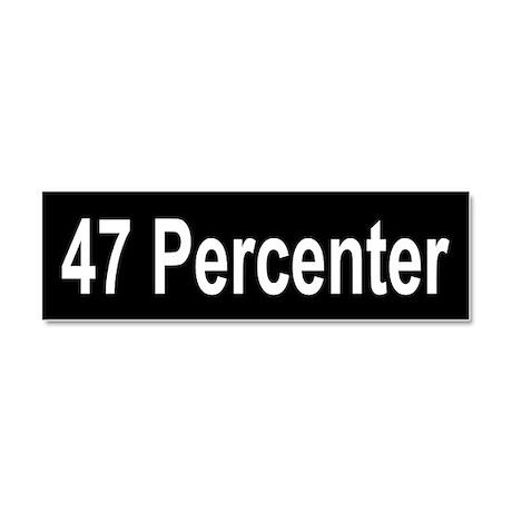 47 Percenter: Car Magnet 10 x 3