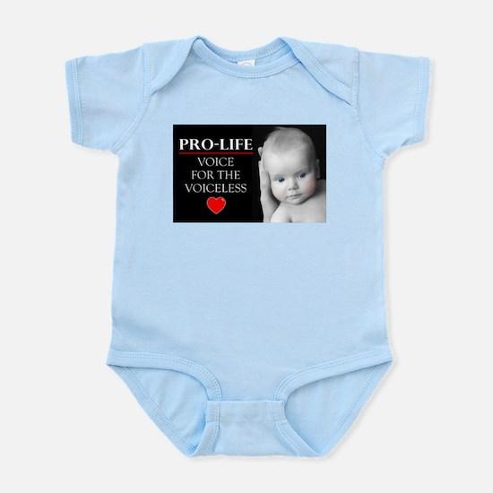 Pro-Life Voice for the Voiceless Infant Bodysuit