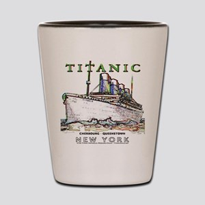 Titanic Neon (white) Shot Glass