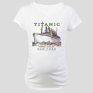 Titanic Neon (white) Maternity T-Shirt