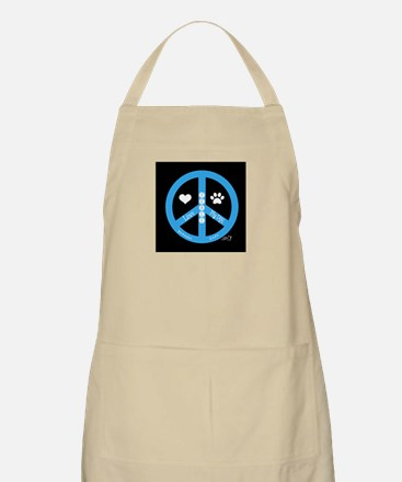 Peace, Love, My Dog Apron