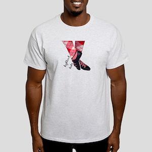 Highland babe tartan legs Light T-Shirt
