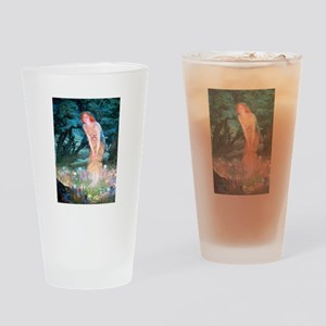 Queen of the Fairies Drinking Glass