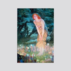 Queen of the Fairies Rectangle Magnet
