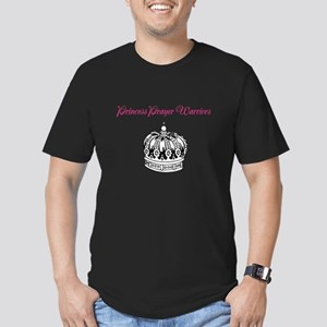 Princess Prayer Warriors Men's Fitted T-Shirt (dar