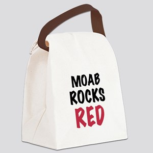 Moab rocks red Canvas Lunch Bag
